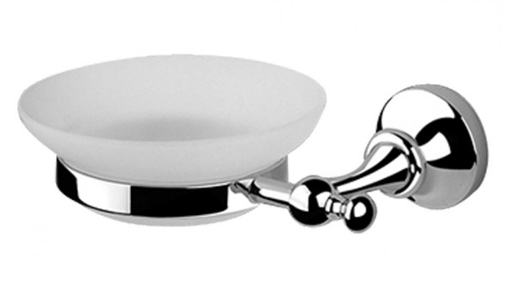 Armando Vicario Provincial Soap Dish - Chrome