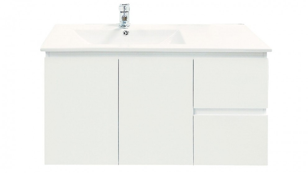 Vanity Bathroom Harvey Norman ledin havana 900mm vanity - bathroom vanities - vanities & basins