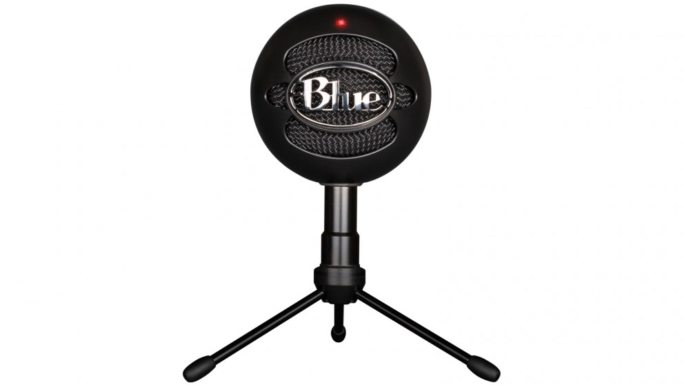 buy blue microphones snowball ice versatile usb microphone black harvey norman au. Black Bedroom Furniture Sets. Home Design Ideas