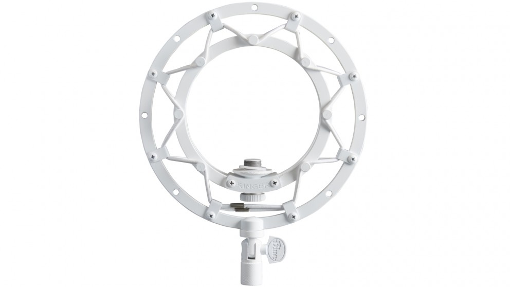 Blue Microphones Ringer Shock Mount for Snowball Microphone - White