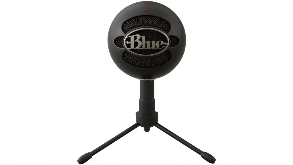 buy blue microphones snowball ice usb microphone black harvey norman au. Black Bedroom Furniture Sets. Home Design Ideas