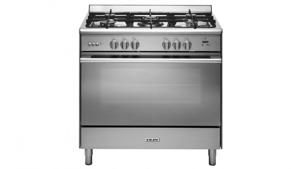 Glem 900mm Freestanding Gas Cooker - Stainless Steel
