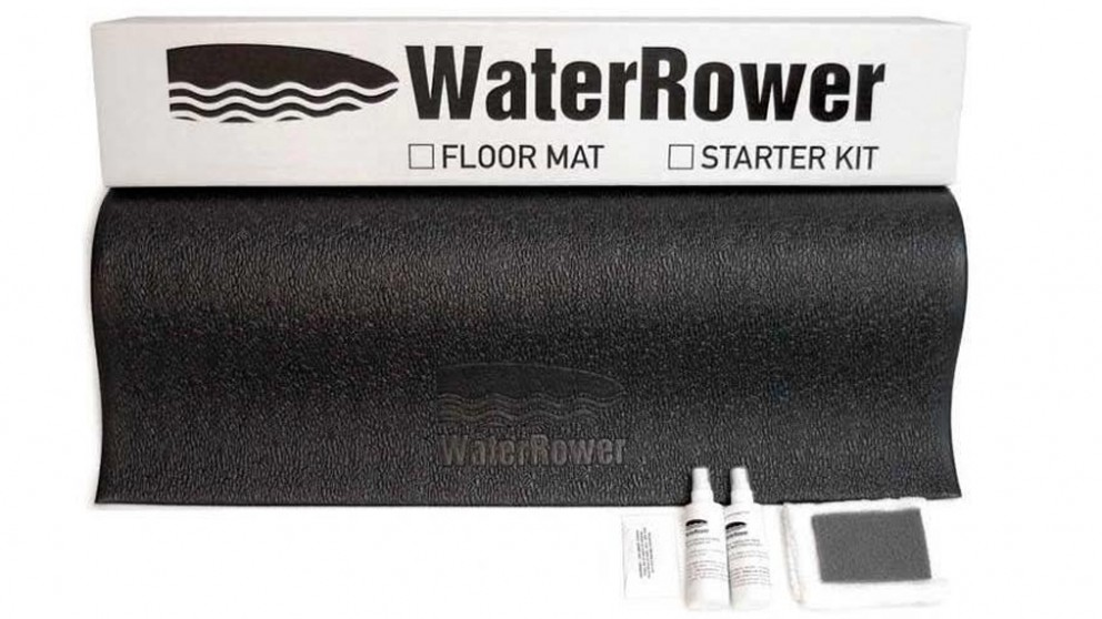 WaterRower Accessory Starter Kit with Protective Mat and Cleaning Kit