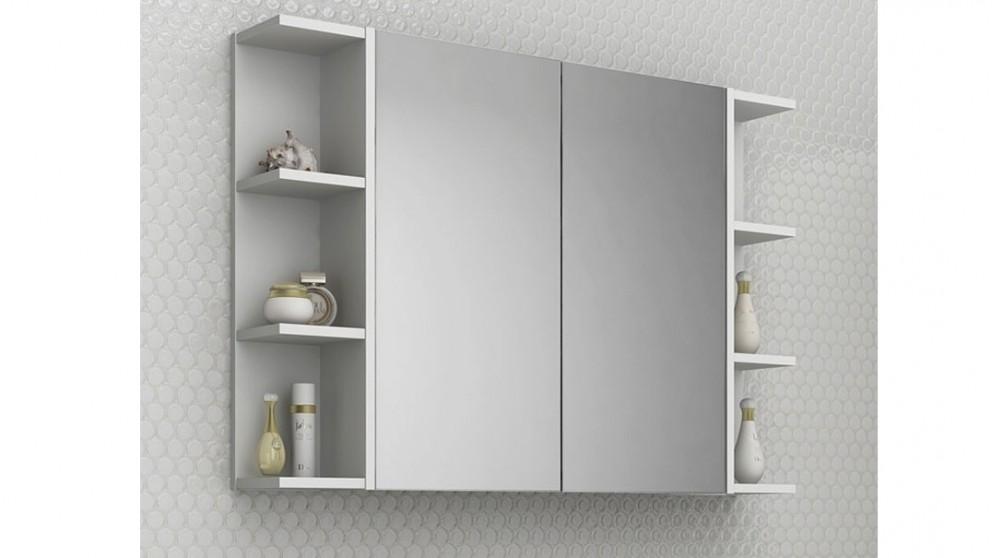Timberline boston 900mm shaving cabinet shaving cabinets for Bathroom cabinets harvey norman