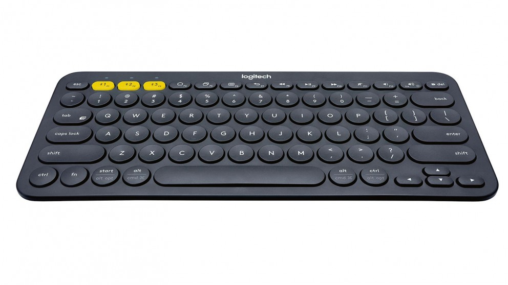 Logitech K380 Multi-Device Keyboard - Black