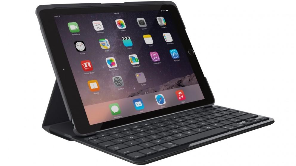 """Logitech Slim Folio Bluetooth Keyboard Cover for iPad 9.7"""" 2017"""