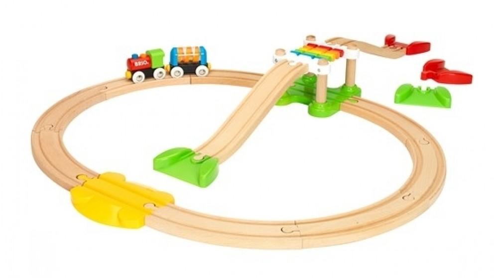 BRIO  My First Rail Beginner - 18 Pieces