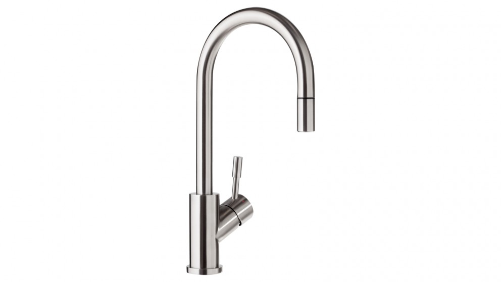 Villeroy & Boch Umbrella Kitchen Mixer with POA Brushed Steel