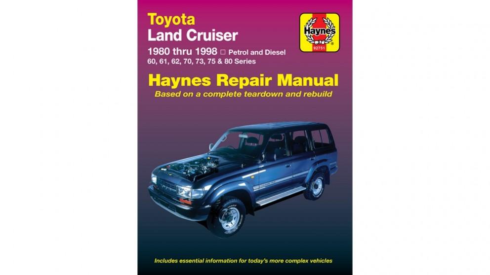 Haynes Toyota Land Cruiser 1980-1998 Repair Manual