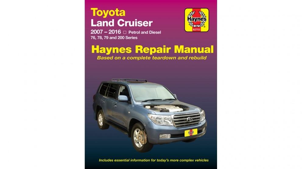 Haynes Toyota Land Cruiser 2007-2015 Repair Manual
