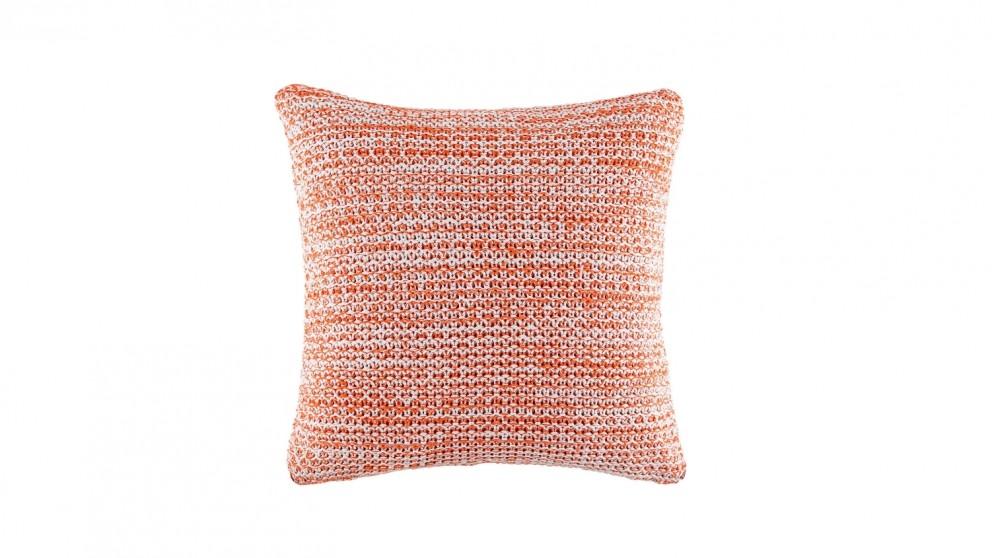 Anton Square Cushion - Coral