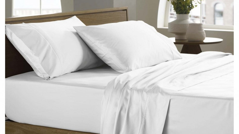 Sheridan 400TC Double Sheet Set - Snow