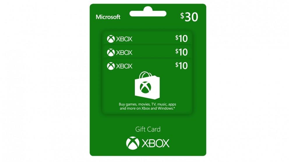 buy xbox live 10 gift card  harvey norman au
