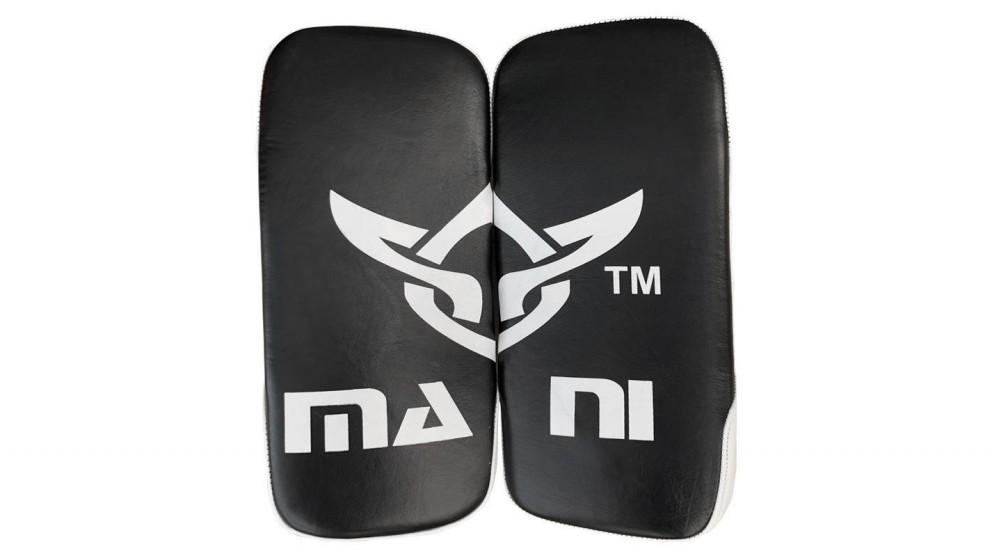 Mani Sports Leather Muay Thai Arm Kick Pads