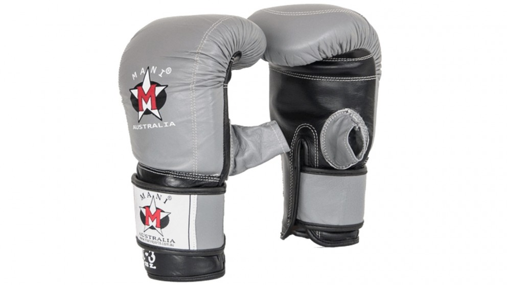 Mani Sports Leather Weighted Gel Bag Mitt