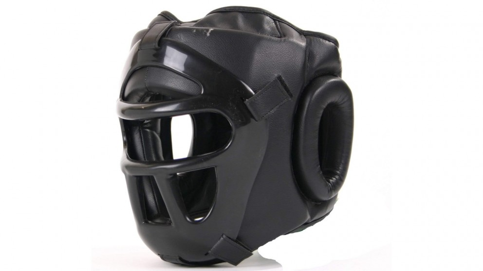Mani Sports Grilled Head Guard with Detachable Face Shield