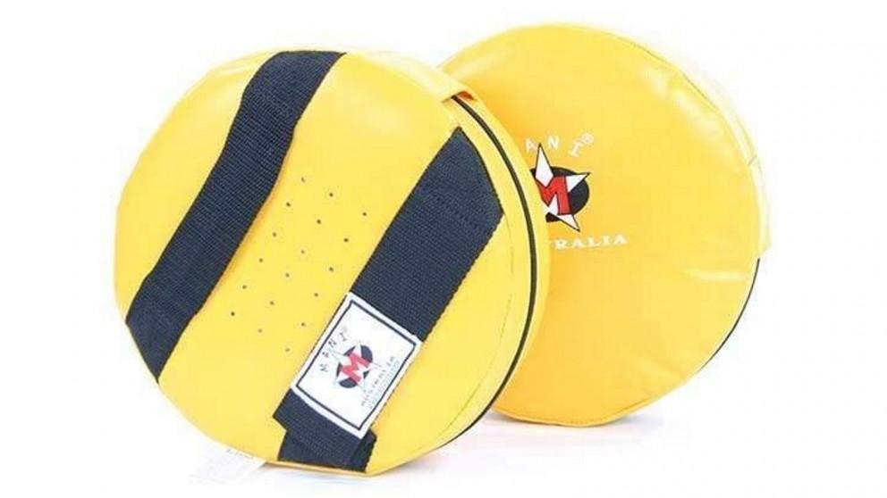Mani Sports Round Shield Small - Yellow
