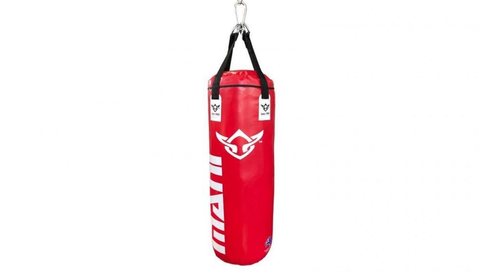 Mani Sports Kick Bags Filled 4ft Punching Bag - Red