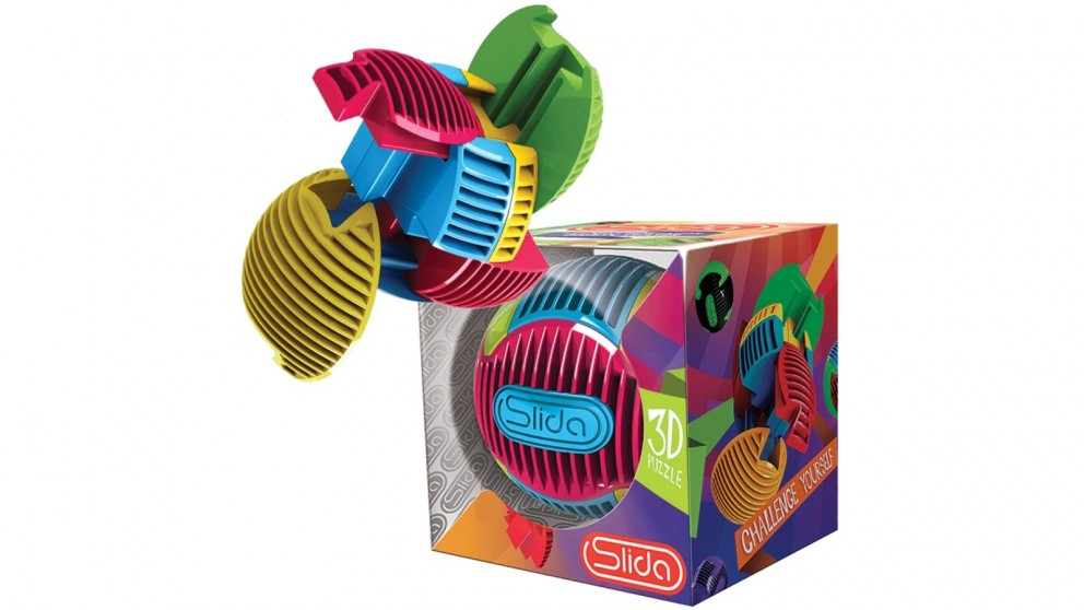 Slida Classic 3D Ball Shaped Puzzle - 2 Pack