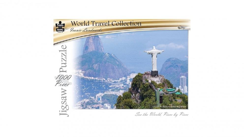 Puzzle Master Christ The Redeemer Rio De Jeneiro