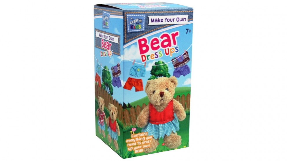 Make Your Own Bear Dress ups by Craft For Kids