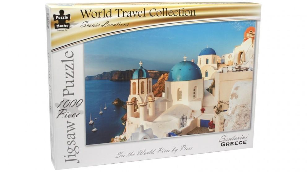 Santiorini Greece 1000 Piece Puzzle