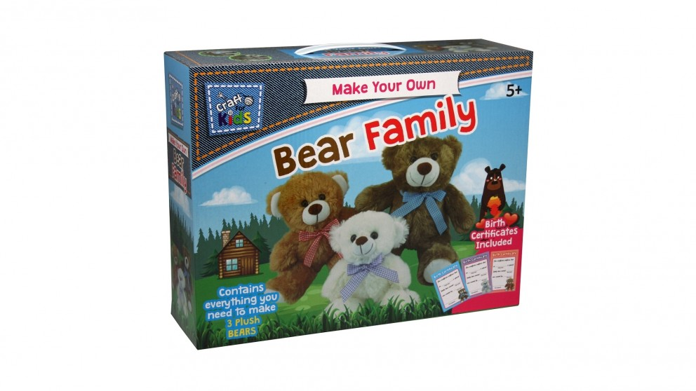 Craft For Kids Make Your Own Bear Family