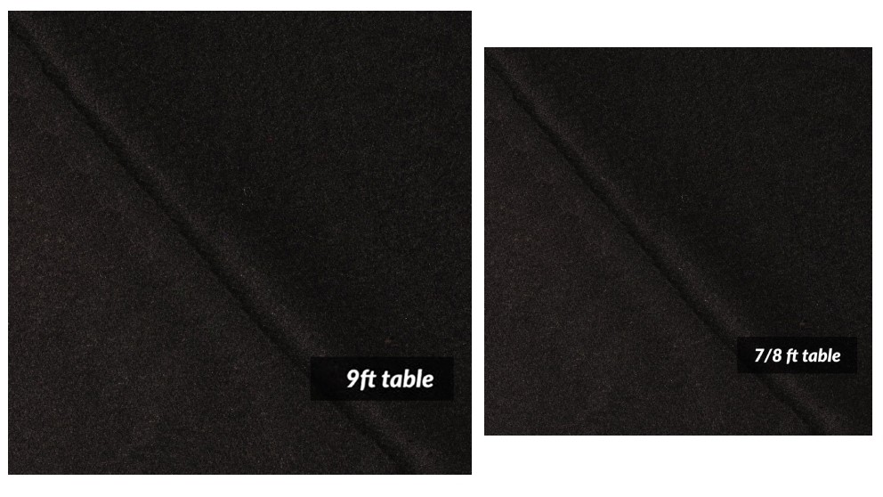 T&R Sports 6 pieces Double Side Wool Pool Snooker Table Cloth Felt Strips Suits 9inch