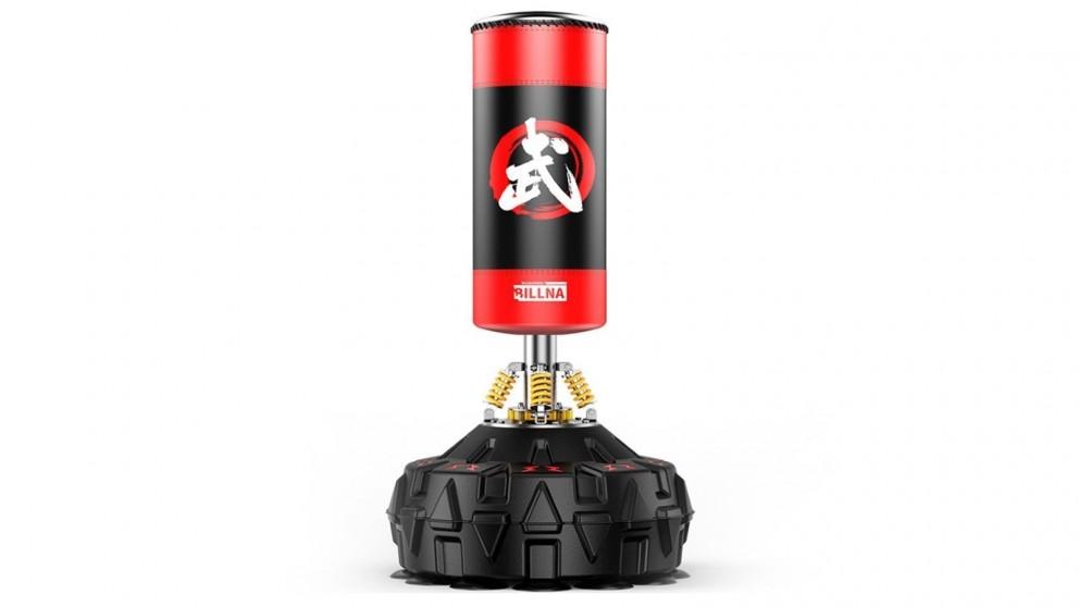 JMQ 180cm Standing Heavy Punching Boxing Bag - Red