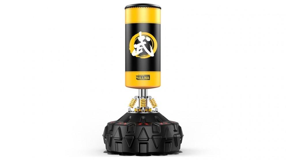 JMQ 180cm Standing Heavy Punching Boxing Bag - Yellow