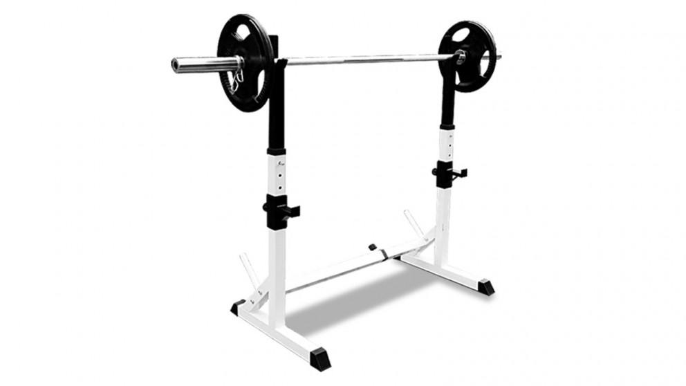 JMQ RBT3002 Squat Rack Sturdy Pair Standard Weight Fitness Lifting Stand
