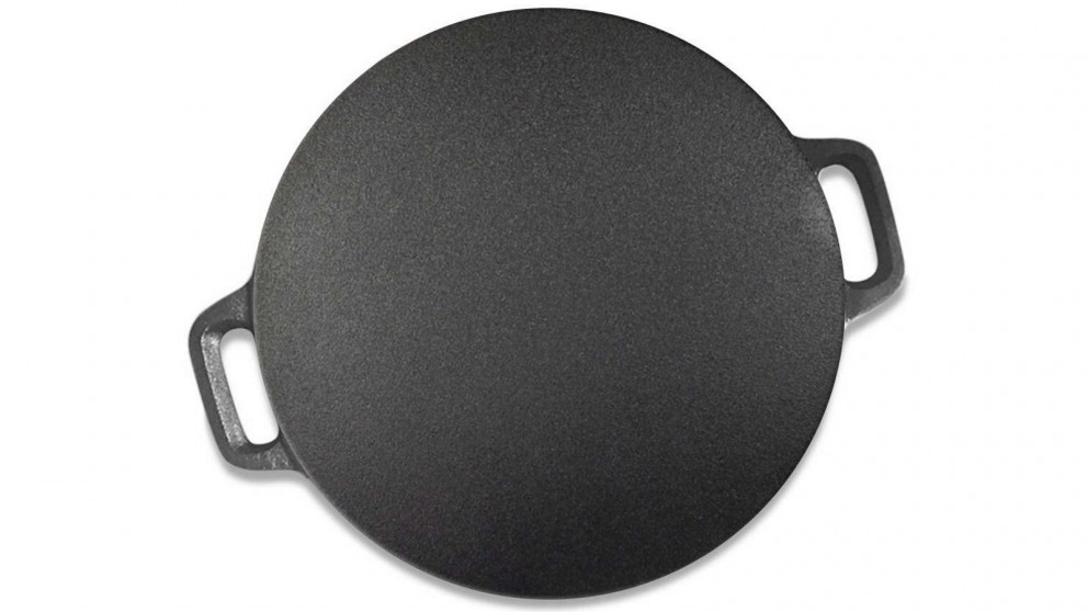 SOGA 37cm Cast Iron Induction Crepe Pan
