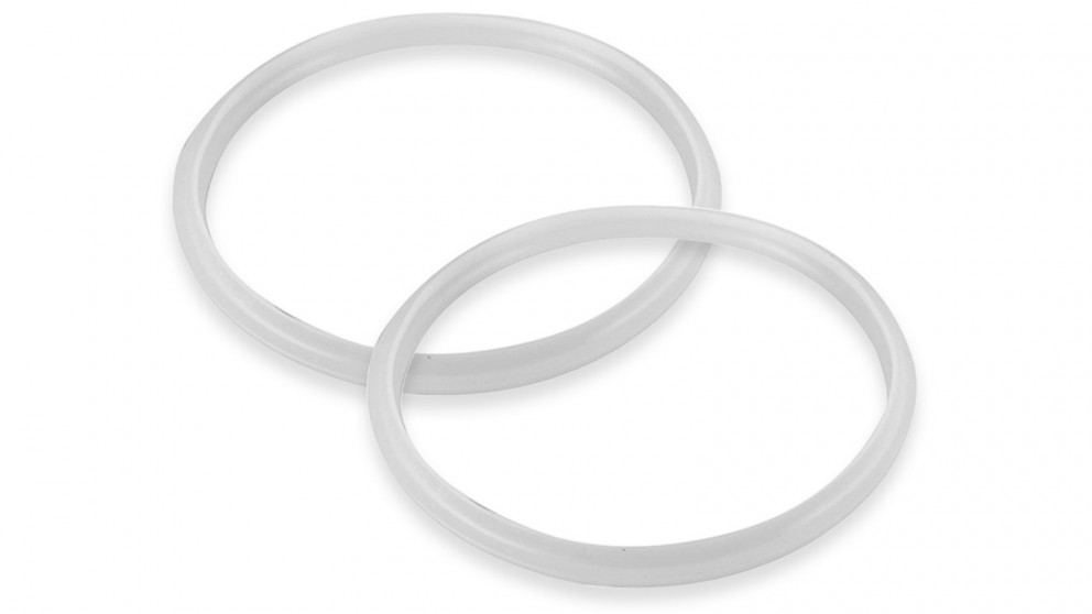 Benser 2x Silicone Pressure Cooker Rubber Seal Ring Replacement Spare Parts - 8L