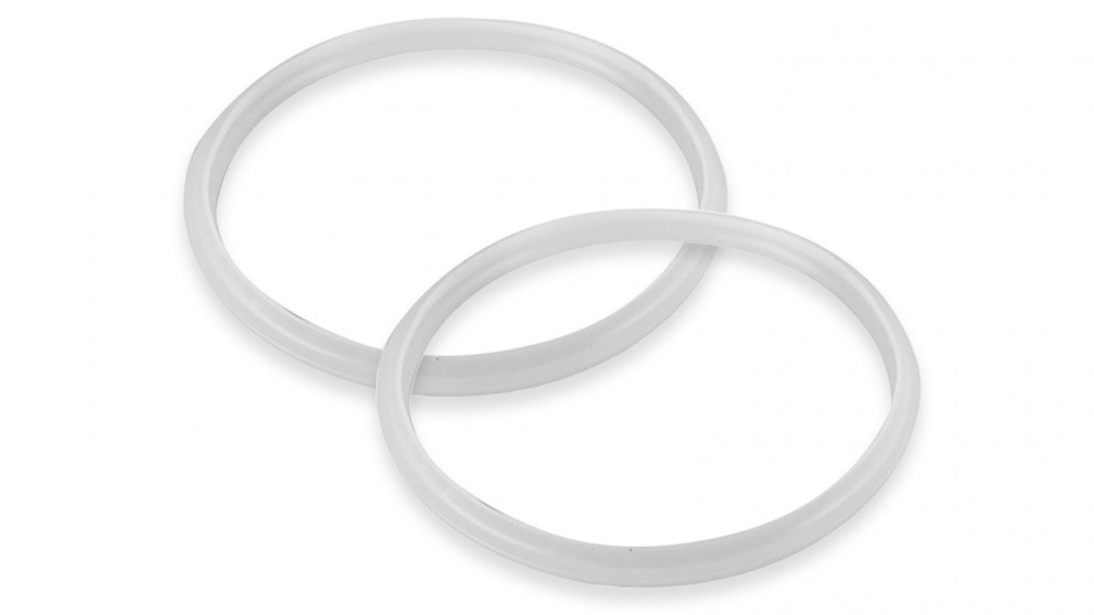 Benser 2x Silicone Pressure Cooker Rubber Seal Ring Replacement Spare Parts - 3L