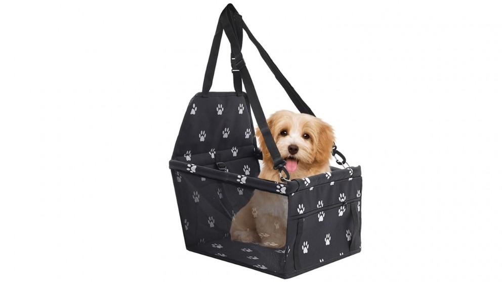 SOGA Waterproof Pet Booster Car Seat Safety Travel Portable Dog Carrier Bag - Black