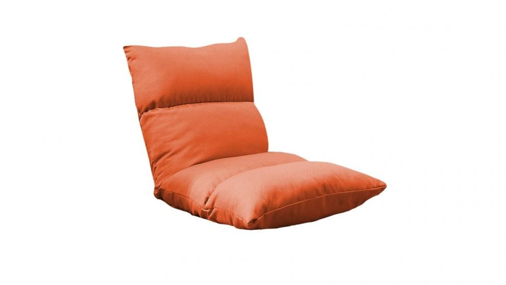 SOGA Floor Recliner Lazy Sofa - Orange