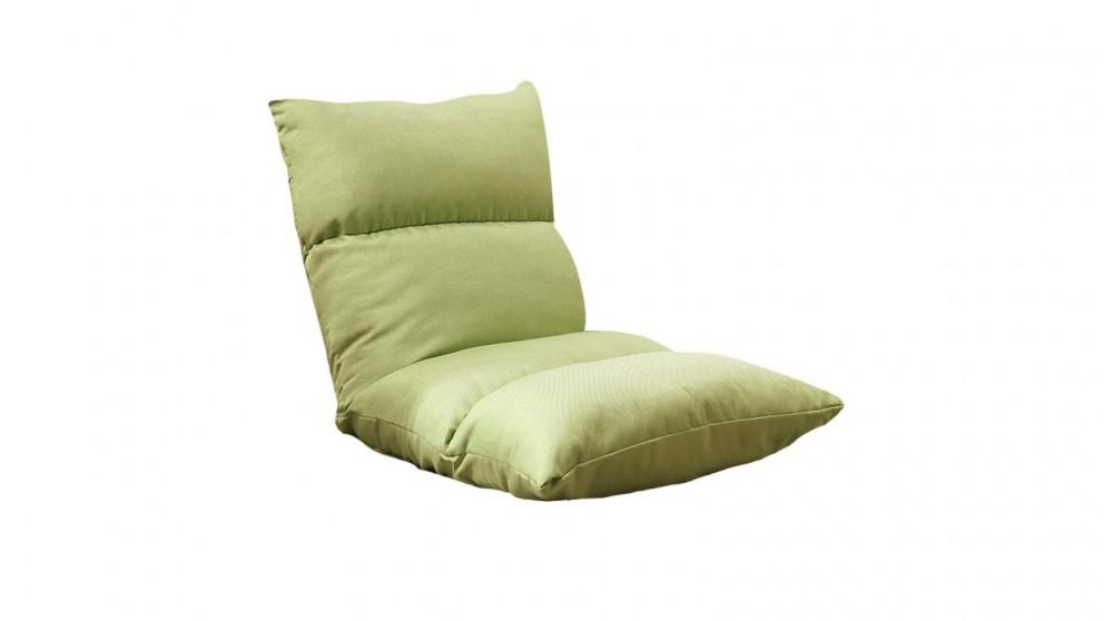 SOGA Floor Recliner Lazy Sofa - Yellow Green