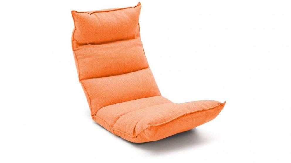 SOGA Floor Recliner Lazy Chair - Orange