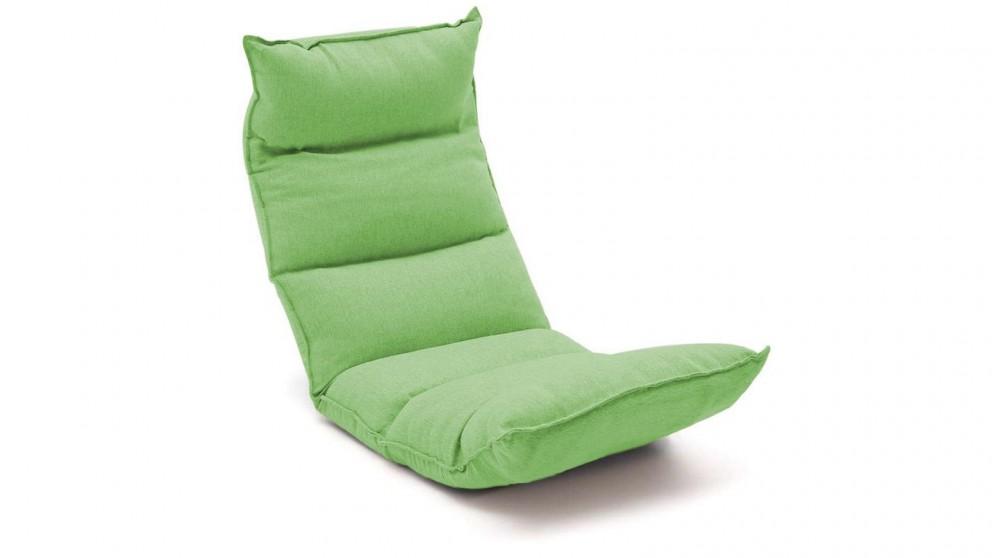 SOGA Floor Recliner Lazy Chair - Green