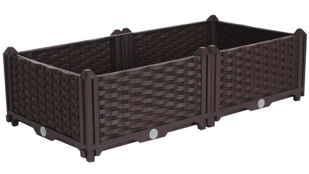 SOGA 80cm x 23cm Plastic Garden Planter Box