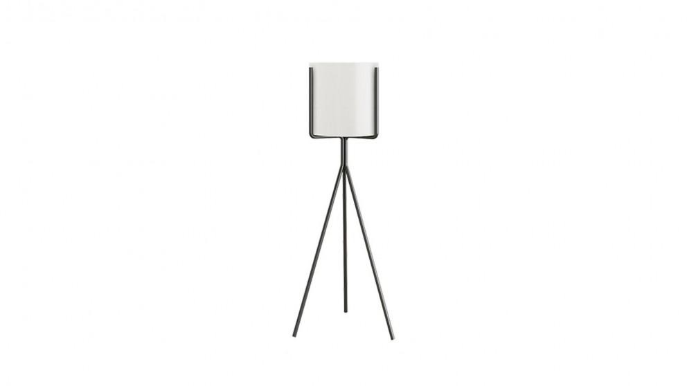 SOGA 80cm Tripod Flower Pot Stand - White