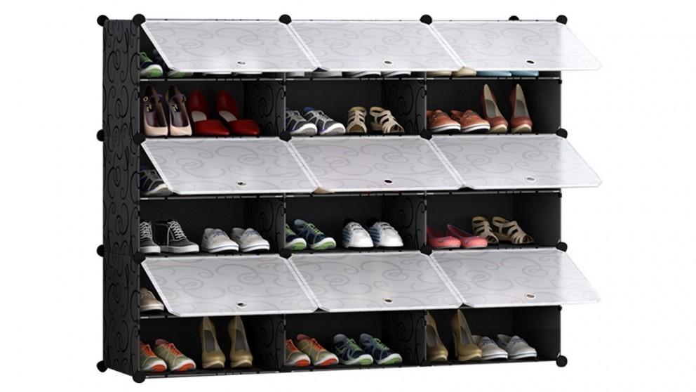 SOGA 6 Tier 3 Column Shoe Organizer