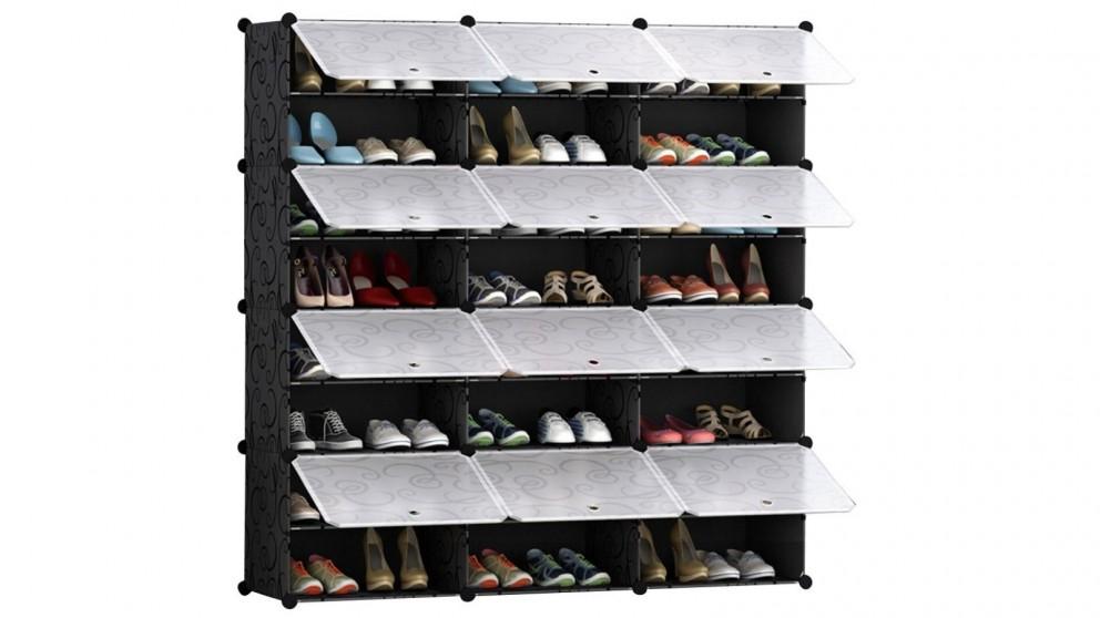 SOGA 8 Tier 3 Column Shoe Organizer
