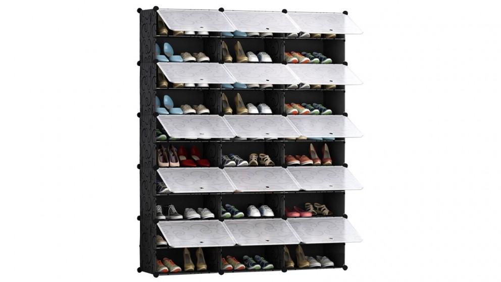 SOGA 10 Tier 3 Column Shoe Organizer