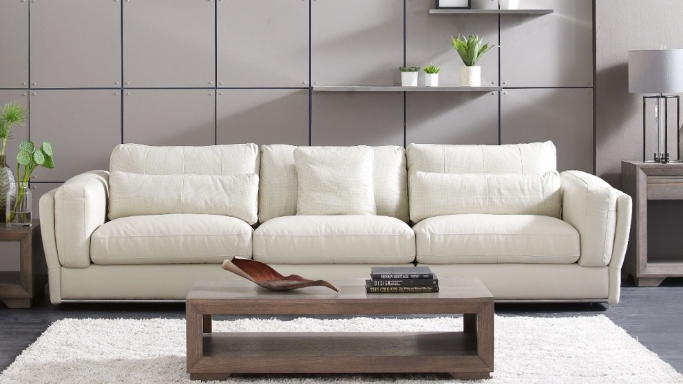 Buy Cameo 3 Seater Leather Sofa Harvey Norman Au