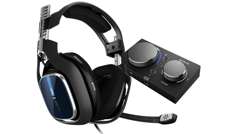 Astro A40 TR PS4 Headset with MixAmp Pro TR