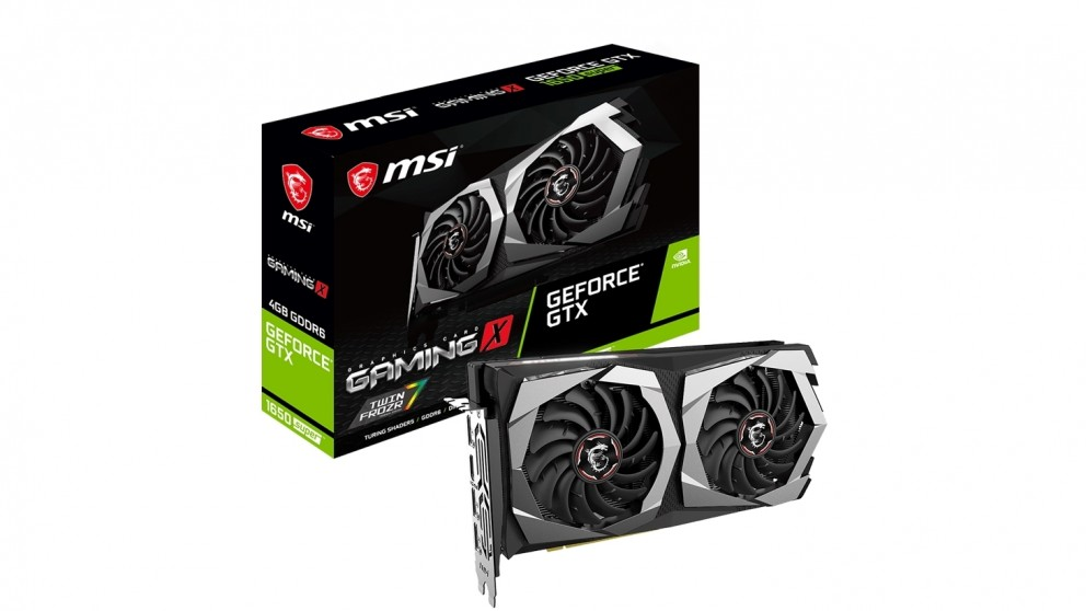 MSI GeForce GTX1650 Super 4GB Gaming X