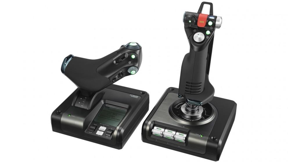Logitech G X52 Professional HOTAS Space & Flight Simulator Controller