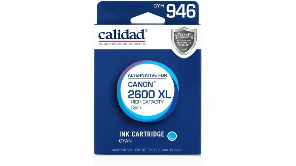 Calidad Canon PGI-2600XL Ink Cartridge - Cyan