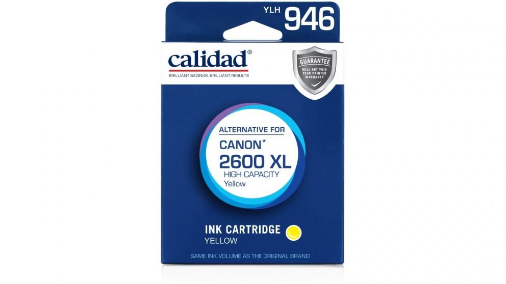 Calidad Canon PGI-2600XL Ink Cartridge - Yellow